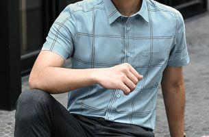 TOP mẫu áo sơ mi nam tay ngắn họa tiết HOT nhất HÈ năm nay
