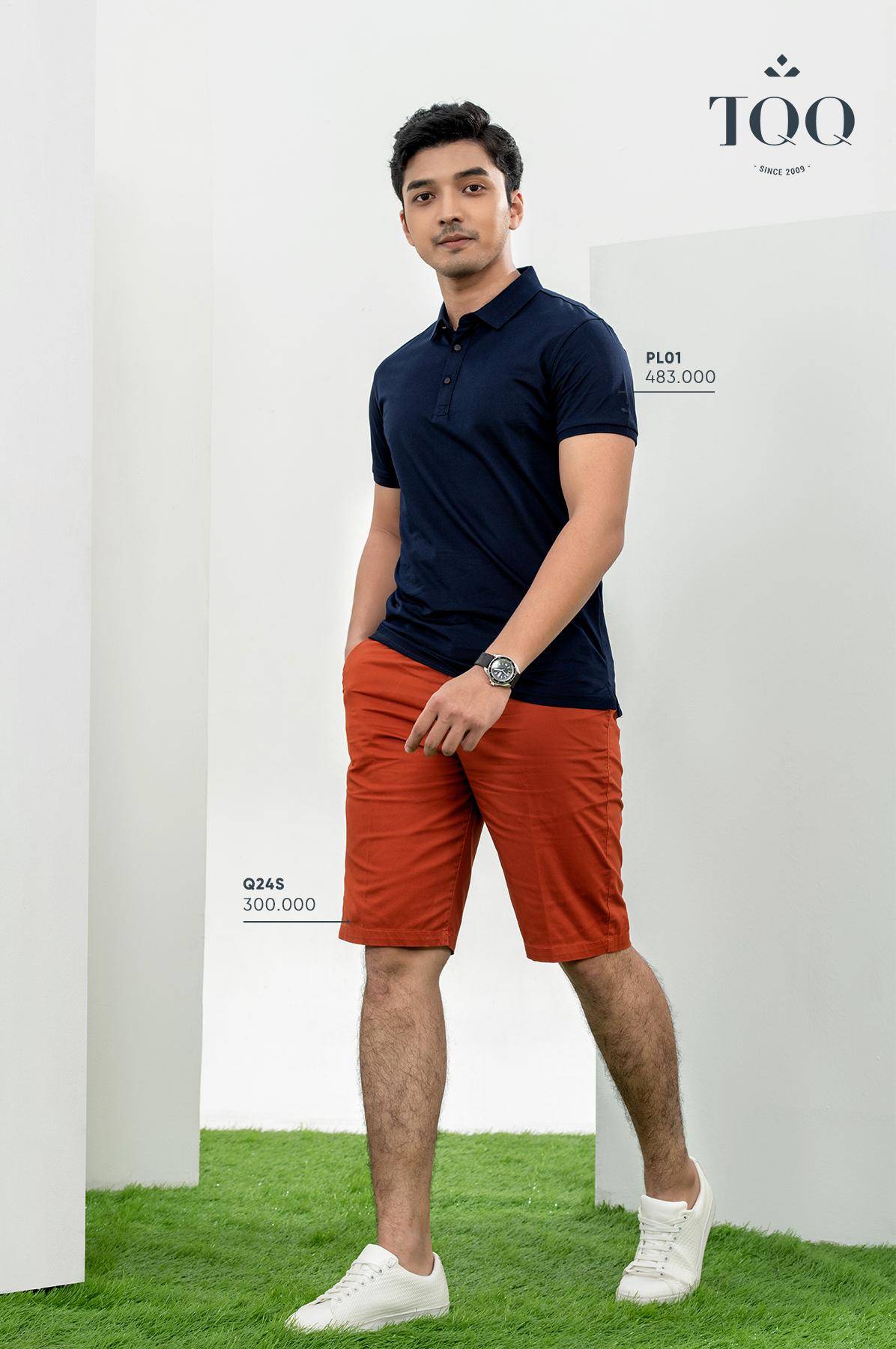 Tuân thủ quy tắc khi mặc áo phông với quần short sẽ giúp nam giới mặc đẹp hơn