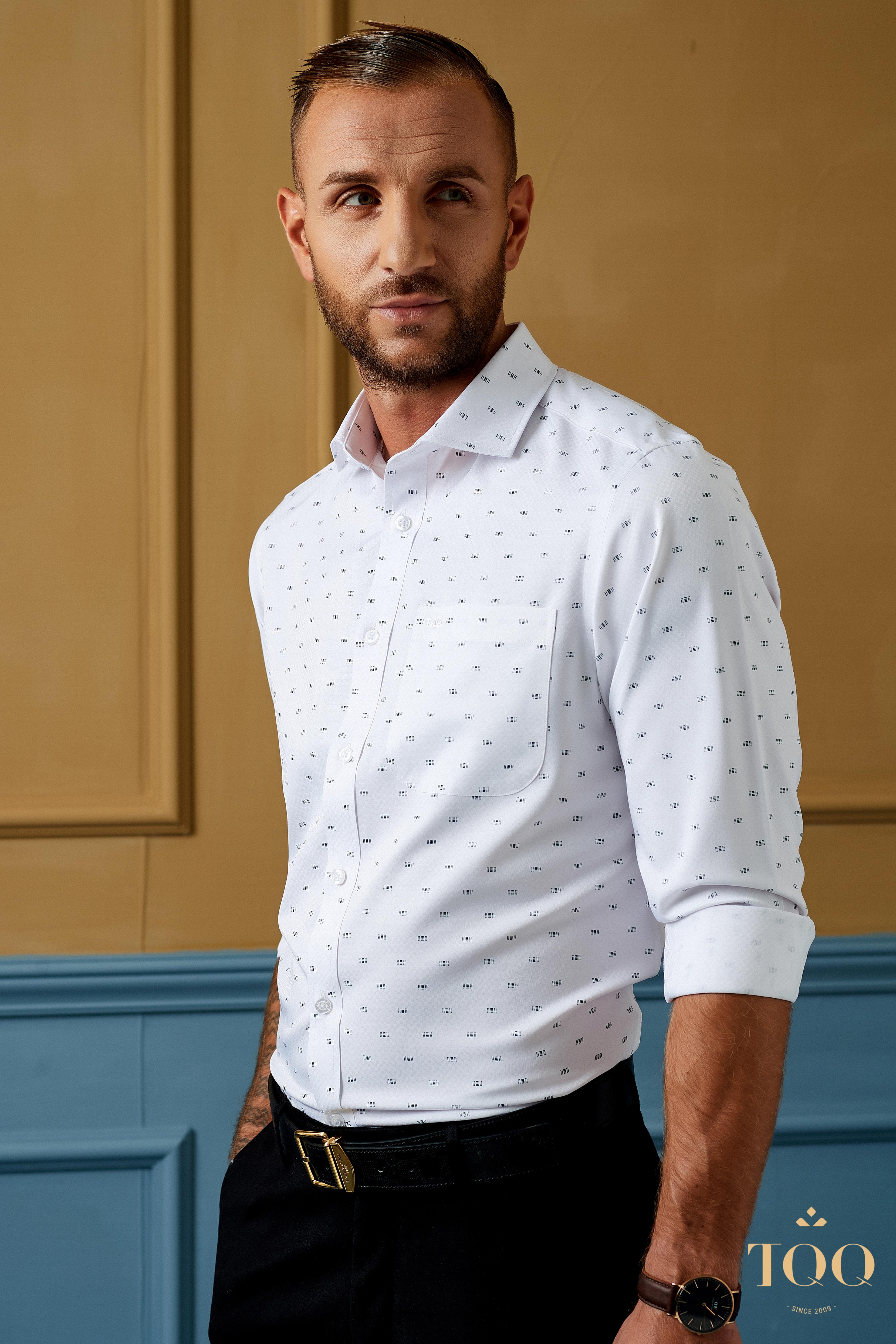 Các loại áo sơ mi nam trắng được đánh giá khá cao bởi có thể sử dụng trong nhiều hoàn cảnh khác nhau