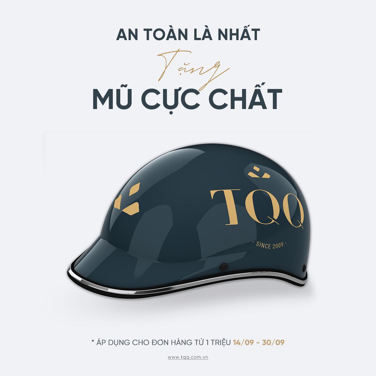 TQQ - Tặng mũ Bảo hiểm
