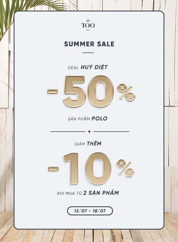 SUMMER SALE - DEAL HỦY DIỆT