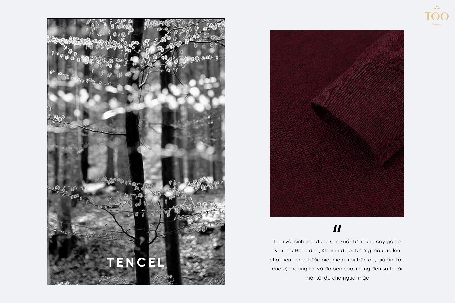 ưu điểm của vải tencel