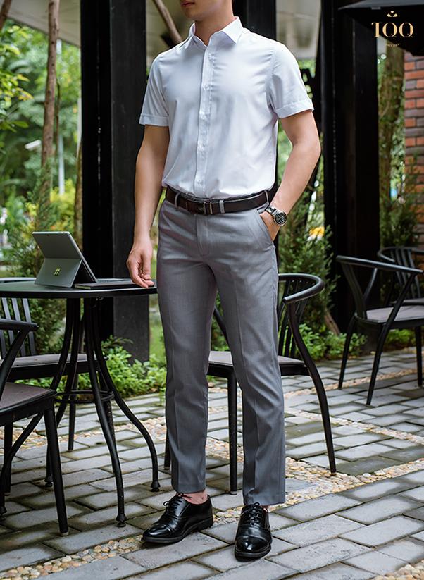 9+ Mẫu áo sơ mi trắng nam công sở ĐẸP - TINH TẾ tại TQQ