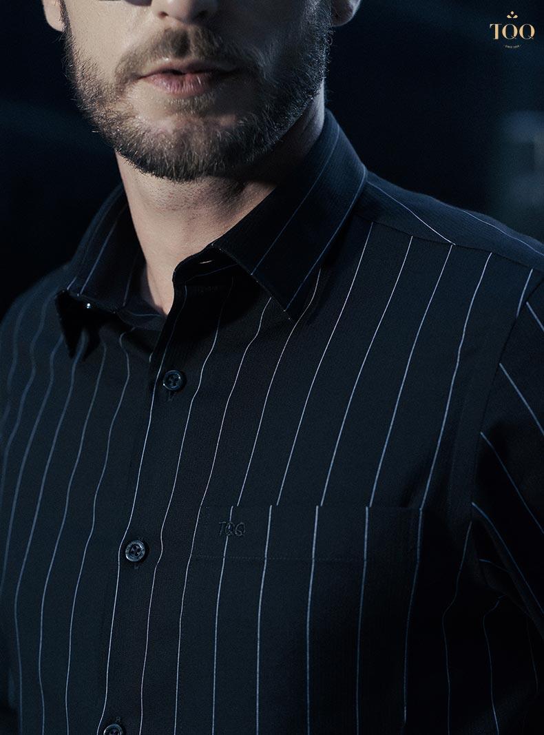 Phong cách mặc áo sơ mi nam cao cấp phù hợp với giới doanh nhân, quý ông hơn cả