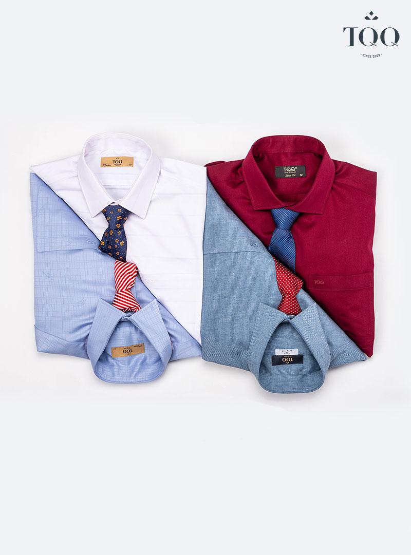 Khi mặc áo sơ mi nam màu các loại