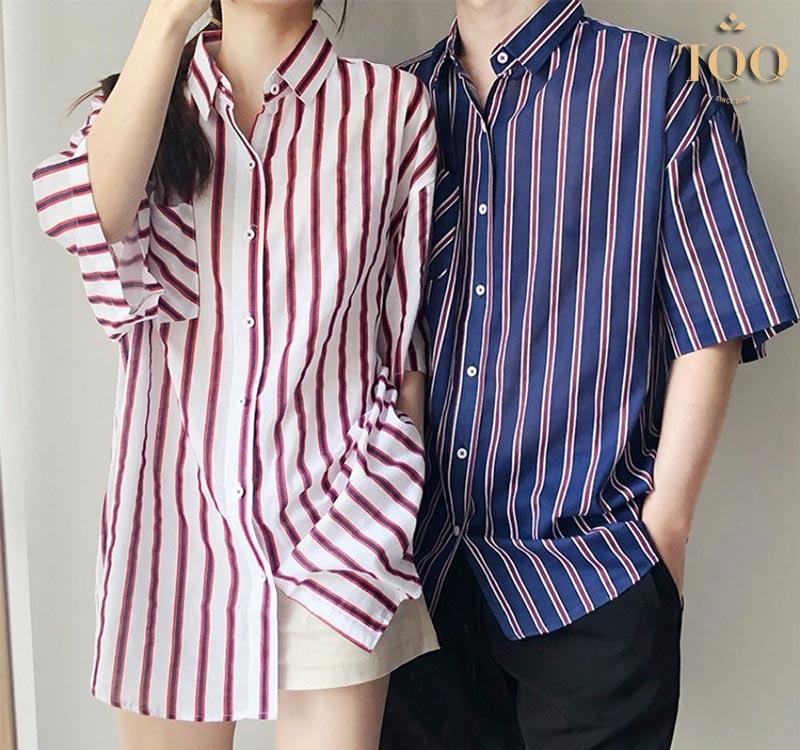 Sơ mi Unisex thiết kế phù hợp với vóc dáng của cả nam và nữ.
