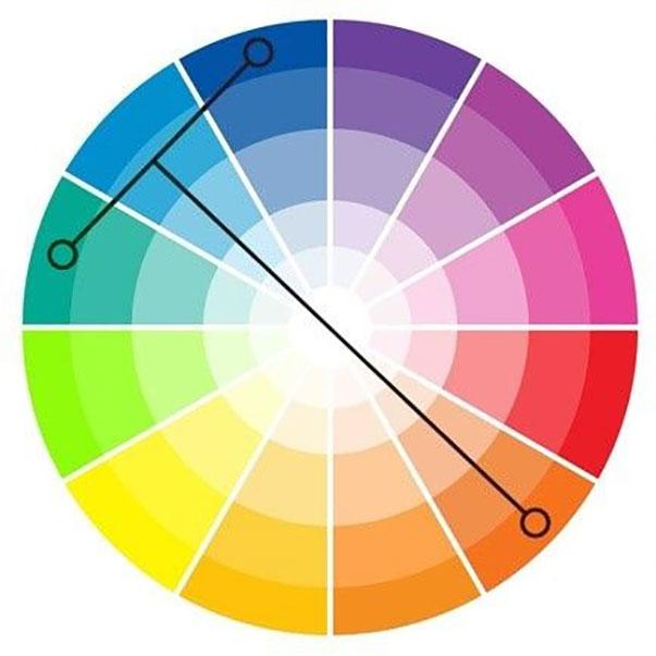 Phối màu theo quy tắc chữ T là cách phối trang phục đơn giản mang lại hiệu quả cao