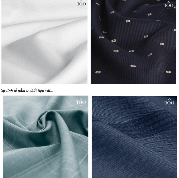 những loại vải chất lượng nhất để may áo sơ mi nam TQQ