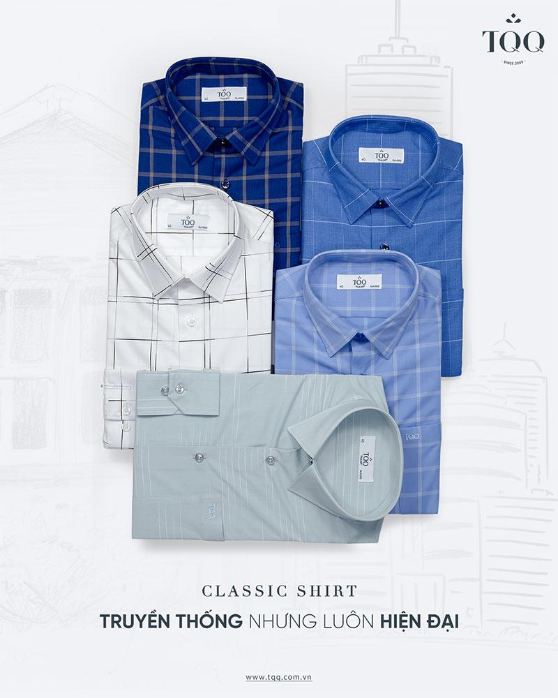 Màu sắc áo sơ mi có tông màu lạnh, trầm sẽ phù hợp nhất với nam giới tuổi 30