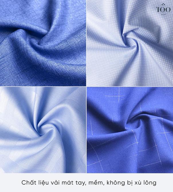 Các mẫu vải áo sơ mi nam 300k cao cấp