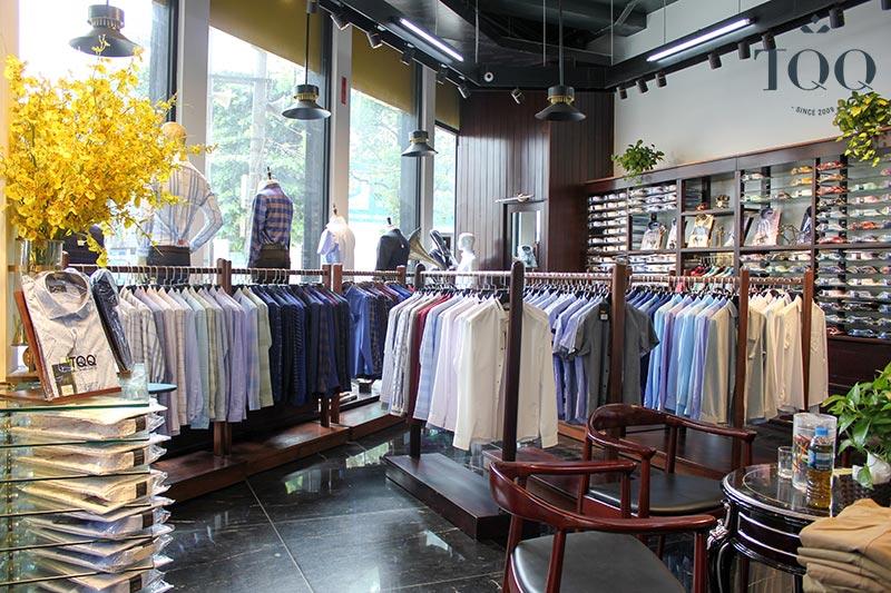 TQQ - địa chỉ cung cấp áo sơ mi nam công sở hàng đầu hiện nay