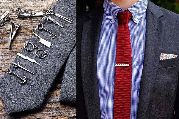 nhiều loại kẹp cà vạt