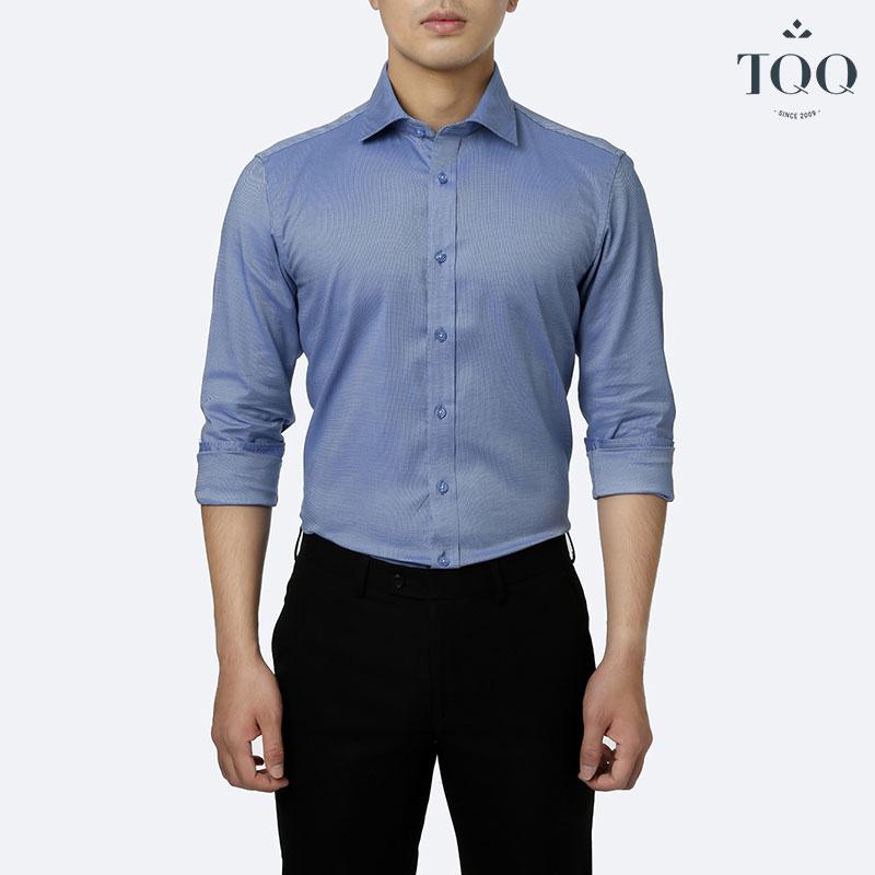 Có thể lựa chọn các loại áo sơ mi nam màu cho môi trường công sở