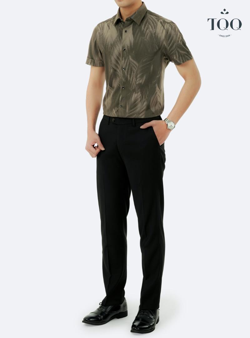 Thời trang và cá tính với mẫu áo sơ mi nam hoa văn nổi bật đến từ TQQ