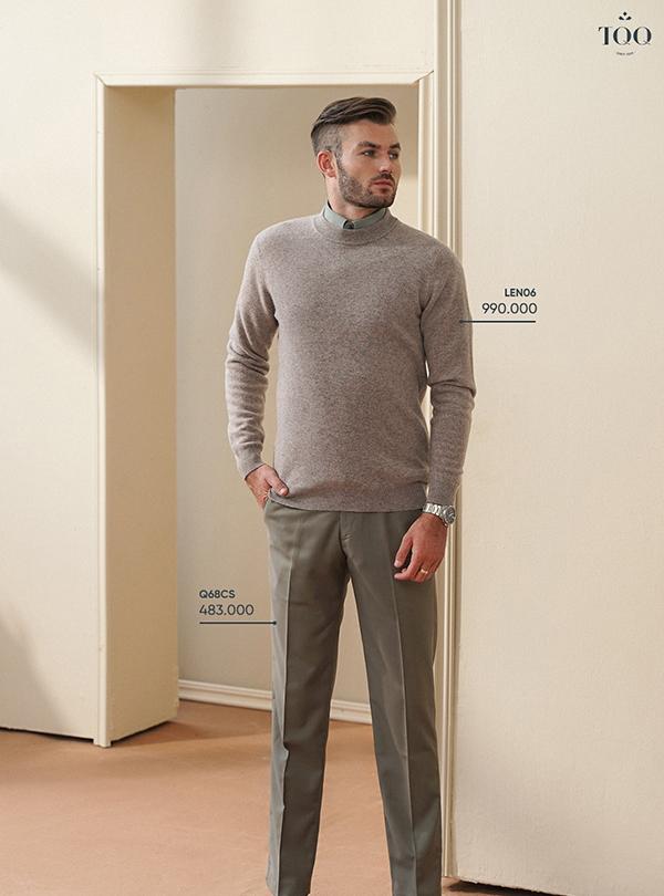 Bí kíp phối đồ áo sơ mi và áo len nam lịch lãm