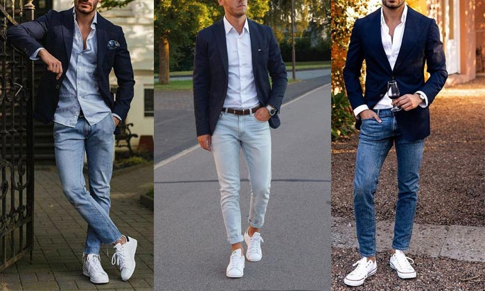 Gu thời trang phá cách khi kết hợp áo sơ mi, quần Jeans với Vest lịch lãm