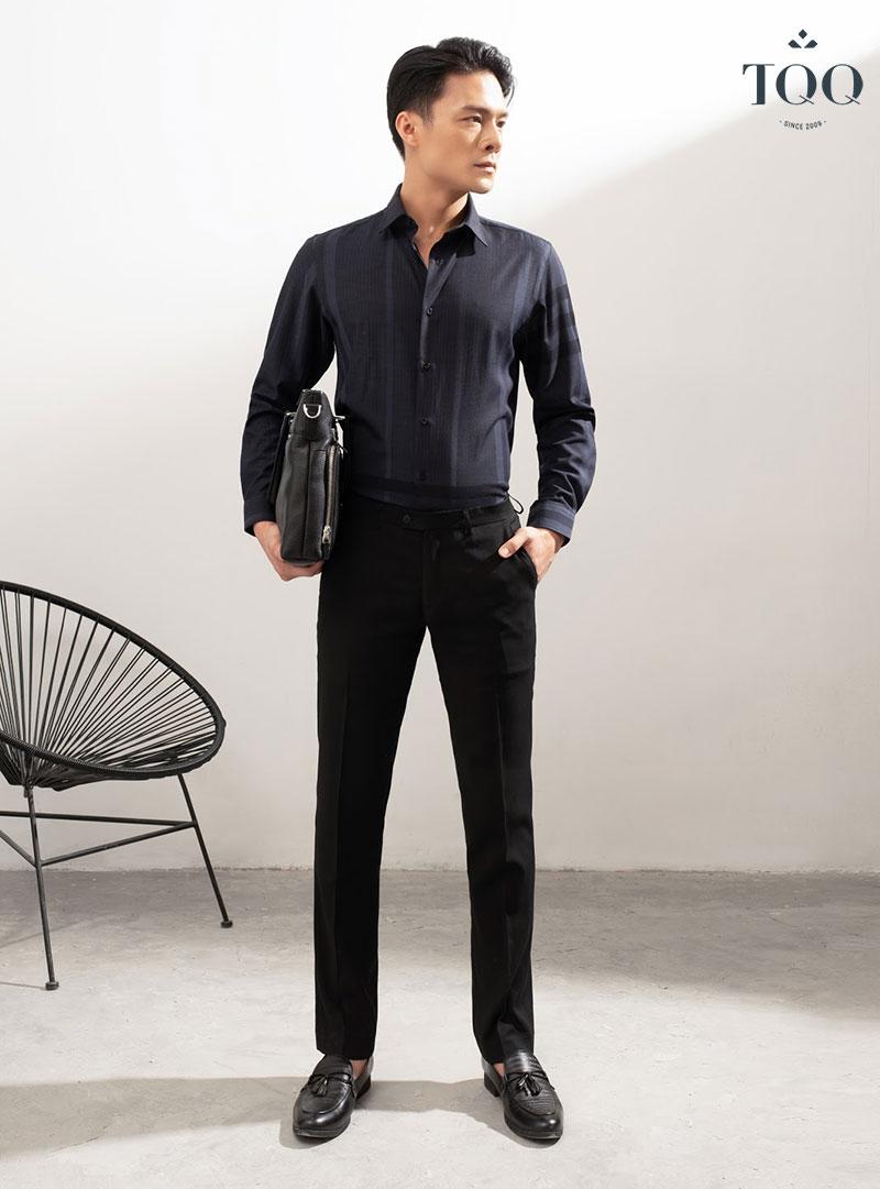 Sơ mi Super Slimfit thiết kế bó sát, tôn dáng đem lại cảm giác tự tin cho phái mạnh