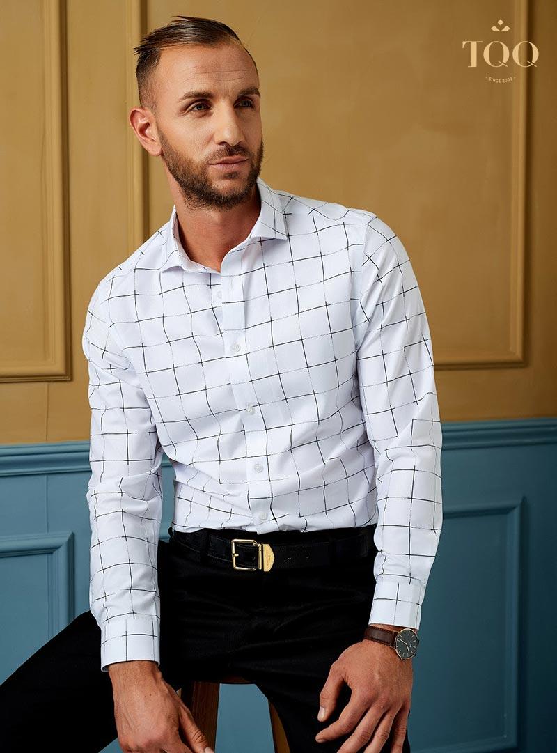Áo sơ mi nam size 44 có phải là mẫu áo ngoại cỡ?