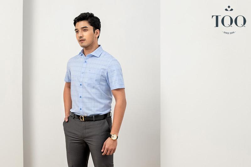 Chọn lựa loại áo sơ mi nam trung niên ngắn tay hay dài tay tùy thuộc vào mục đích, hoàn cảnh sử dụng