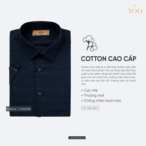 Chất liệu cotton cao cấp