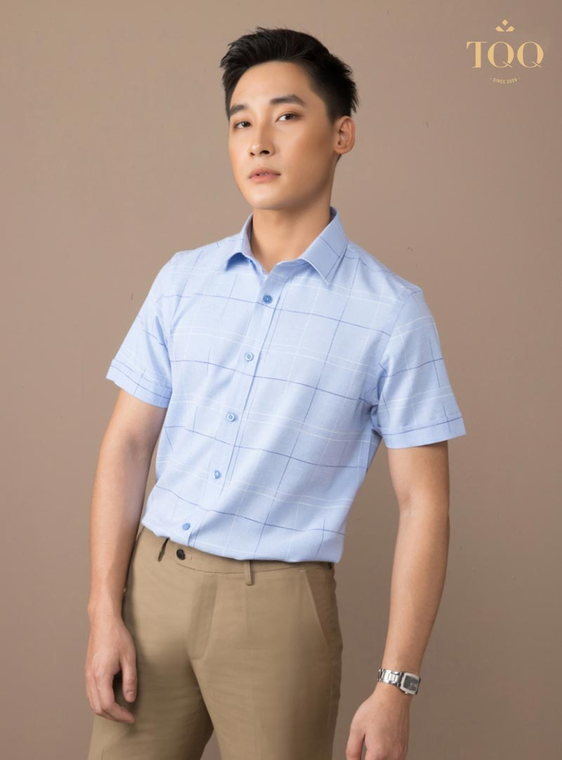 Lựa chọn áo sơ mi nam ngắn tay công sở - Tại sao không?