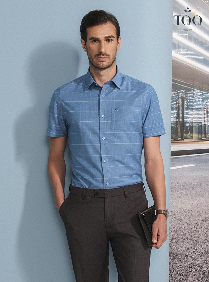 Những chiếc áo sơ mi nam họa tiết là lựa chọn hoàn hảo để mix cùng quần công sở