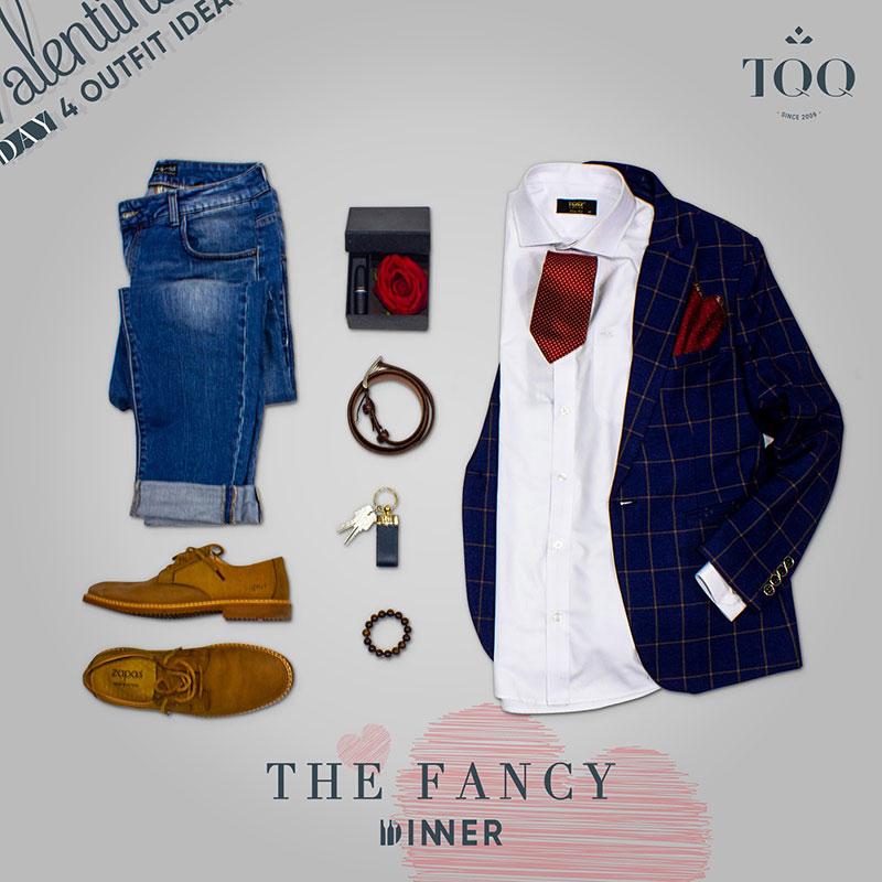 Trẻ trung, phóng khoáng cùng với sơ mi trắng nam và quần jeans