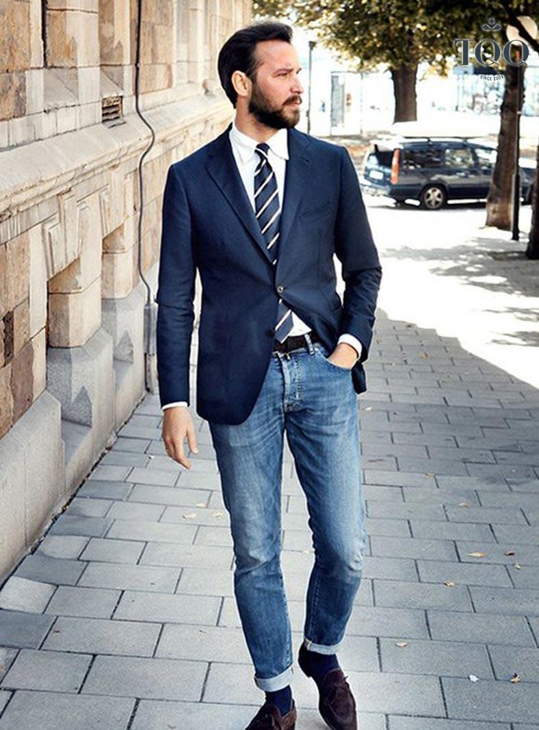 Sơ mi và áo vét là sự lựa chọn phù hợp, lịch lãm với bất cứ quý ông nào