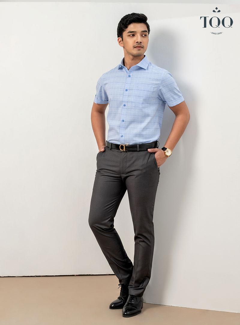 Có rất nhiều hoàn cảnh phù hợp để bạn có thể lựa chọn mặc sơ mi nam ngắn tay