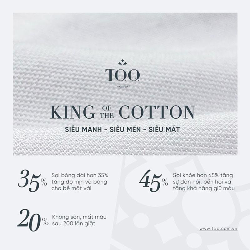 Vải cotton cao cấp được yêu thích để may áo sơ mi nam cao cấp