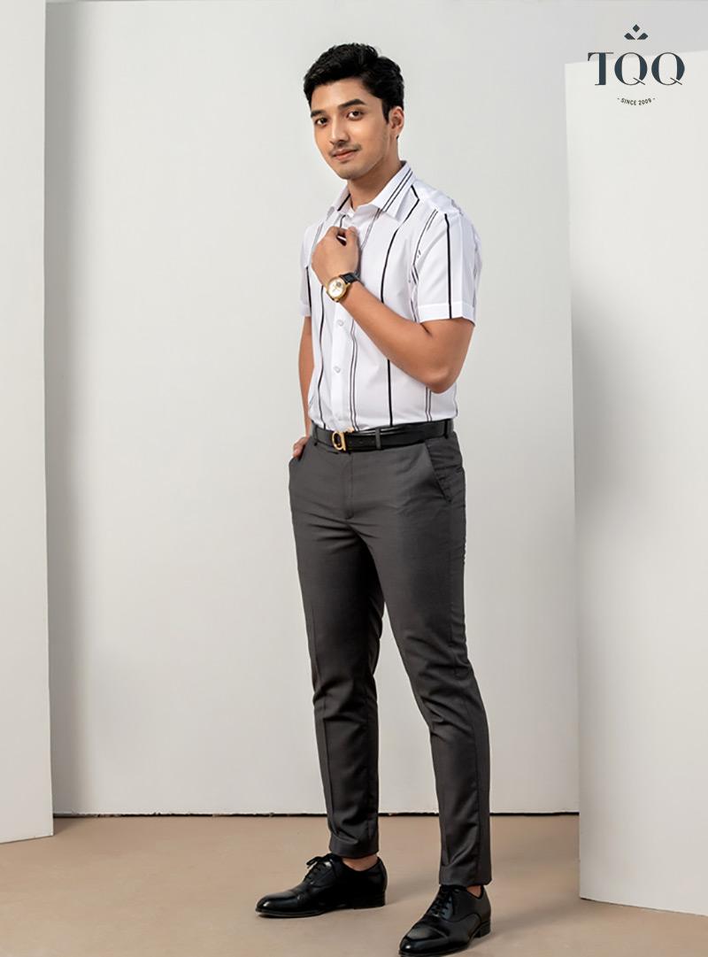 Những mẫu áo sơ mi nam bo người nhẹ như Slimfit sẽ là kiểu dáng được ưa chuộng trong năm 2021