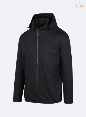 Áo khoác gió 2 lớp KH1909 màu đen