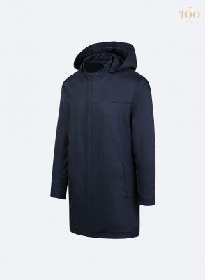Áo khoác dáng dài KH21908 màu tím than