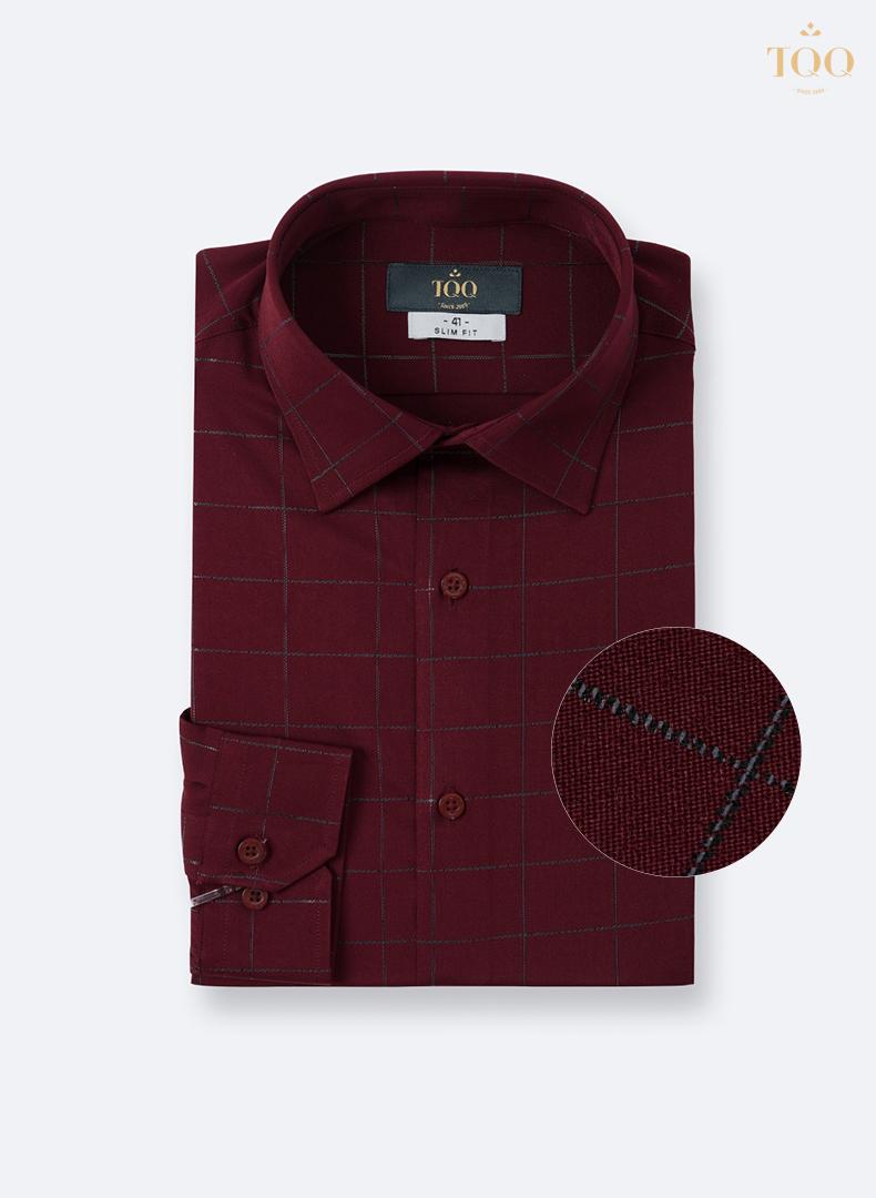Mẫu áo sơ mi họa tiết kẻ caro K307CS mang lại sự nổi bật, tự tin cho các quý ông