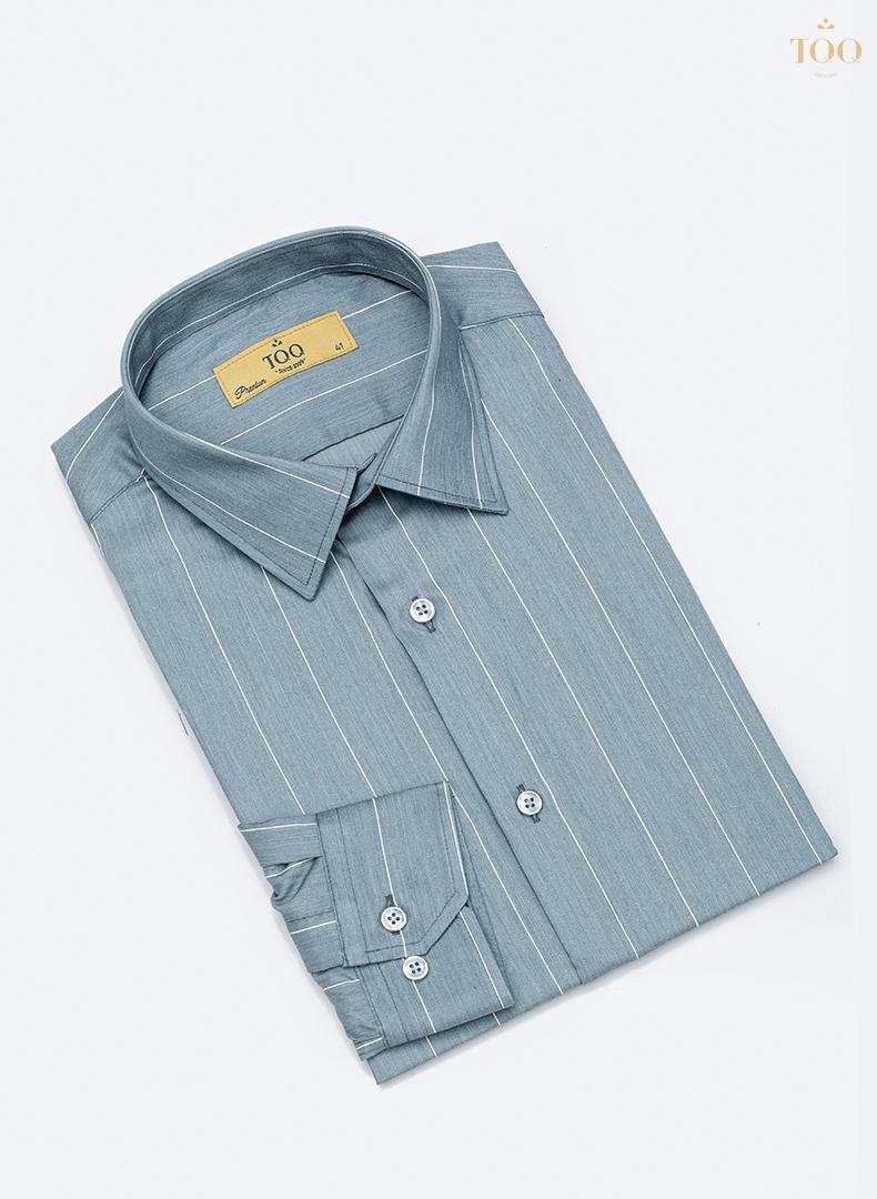 Mẫu áo sơ mi K393CS dài tay đem đến sự nhẹ nhàng và lịch lãm cho người mặc