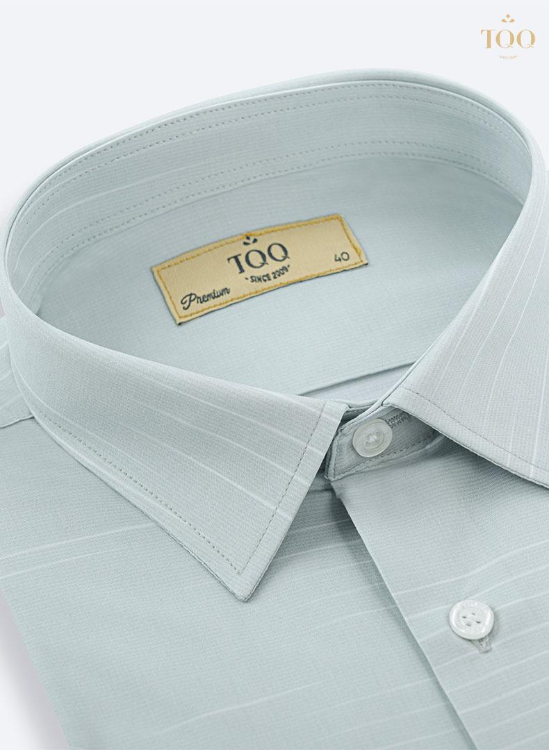 chất liệu vải cao cấp thoáng mát kết hợp với gam màu xanh ngọc