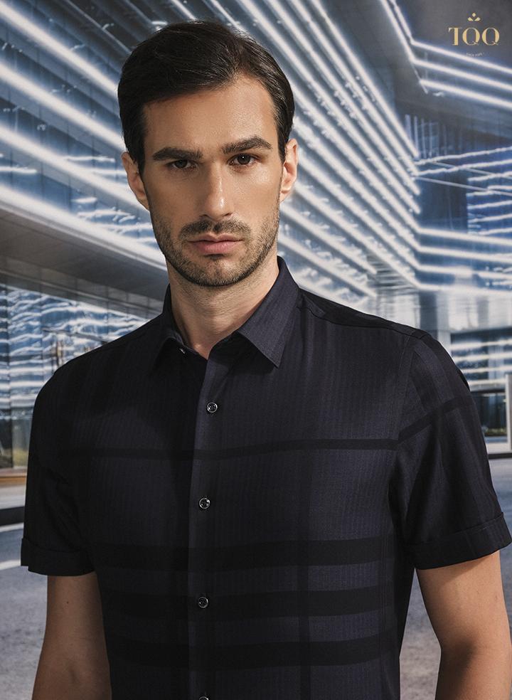 Đây là mẫu áo sơ mi khá hoàn hảo dành cho quý ông công sở