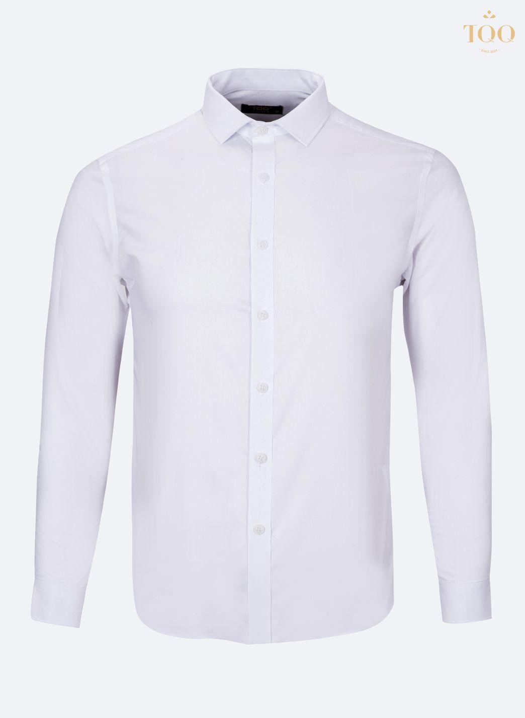 Mẫu áo sơ mi nam M01 trắng có chất lượng tốt, giá thành phải chăng