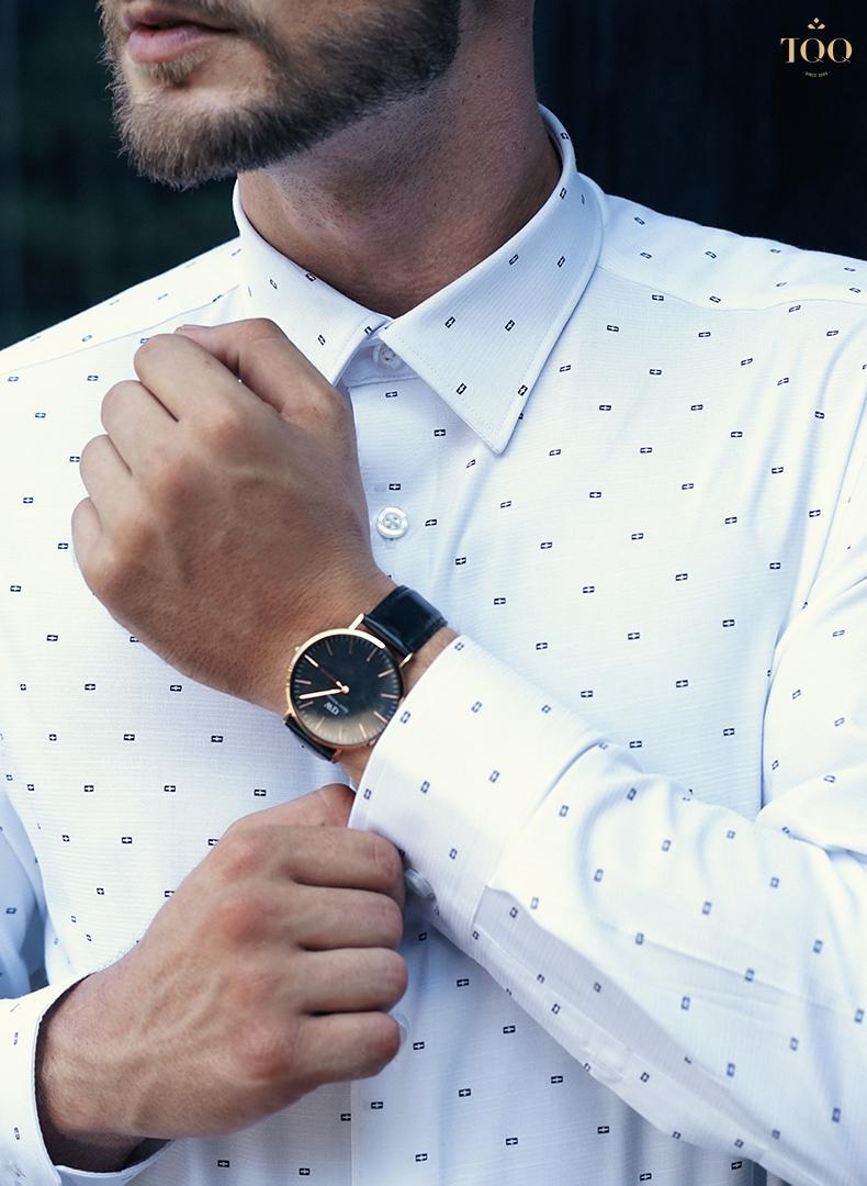 Họa tiết trên áo được tính toán rất hoàn hảo ở cả kích thước và mật độ