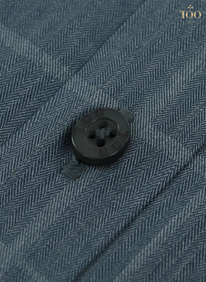 Kiểu dệt Herringbone với những đường dệt đan xéo tinh tế