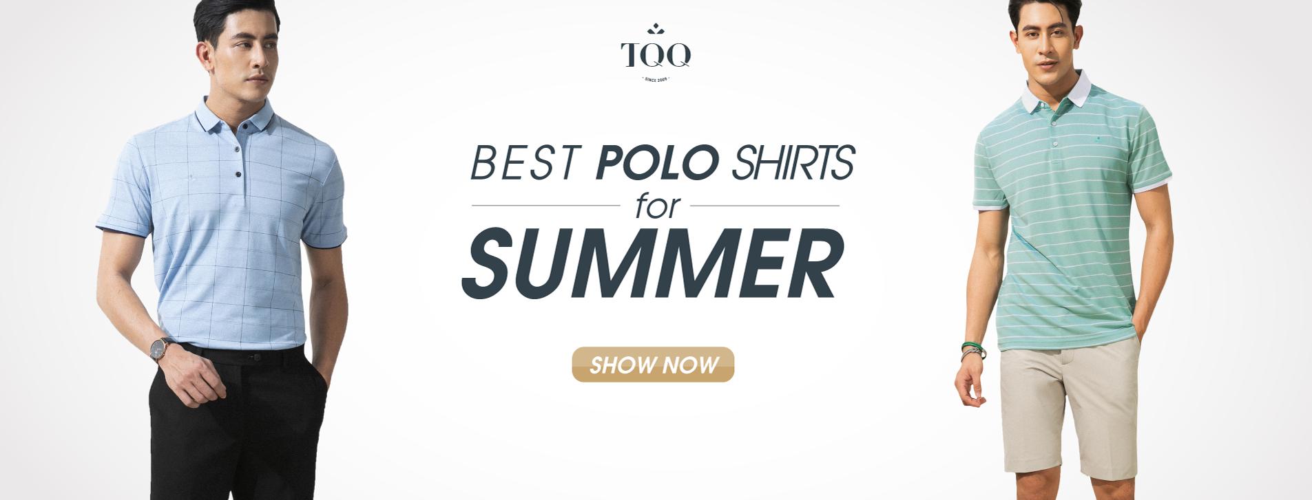 những mẫu áo phông polo đẹp nhất 2019