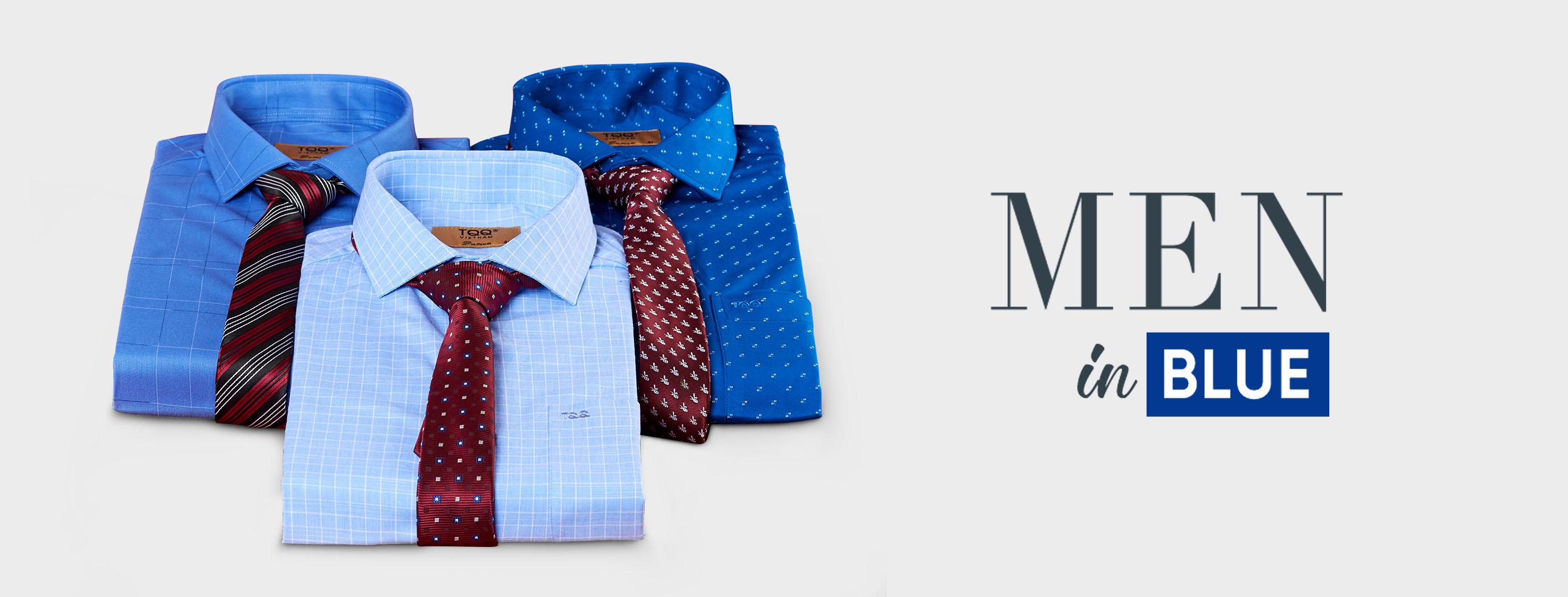 Sang trọng và đẳng cấp với các thiết kế trong bộ sưu tập Men in Blue